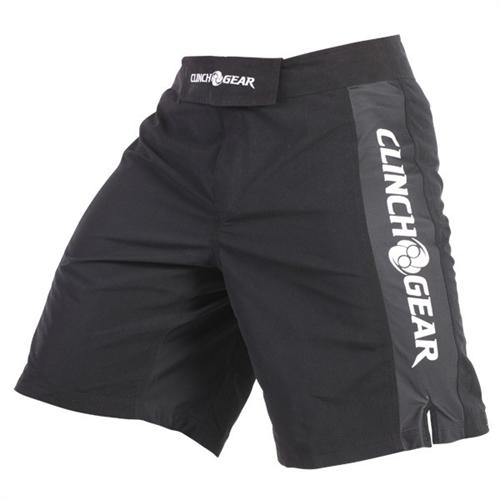 Clinch Gear Clinch Gear Pro Series Shorts - Black/Black/White